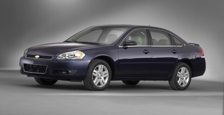 2011 Chevrolet Impala LTZ in Imperial Blue Metallic from a left side view