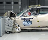 2011 Chevrolet Impala IIHS Frontal Impact Crash Test Picture