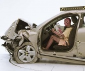 2012 Chevrolet Impala IIHS Frontal Impact Crash Test Picture