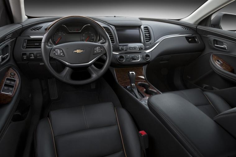 2018 Chevrolet Impala Cockpit Picture