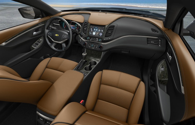 2018 Chevrolet Impala Interior Picture