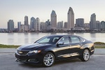 2018 Chevrolet Impala in Black - Static Front Left Three-quarter View