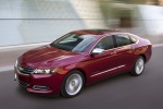 2018 Chevrolet Impala Premier in Cajun Red Tintcoat - Driving Front Left Three-quarter Top View