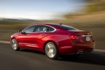 2018 Chevrolet Impala Premier in Cajun Red Tintcoat - Driving Rear Left Three-quarter View