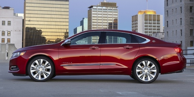 2018 Chevrolet Impala Pictures