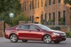 2010 Chevrolet Malibu LT in Red Jewel Tintcoat from a right side view