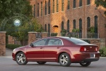 2010 Chevrolet Malibu LT in Red Jewel Tintcoat - Static Left Side View