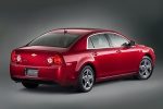 2010 Chevrolet Malibu LT in Red Jewel Tintcoat - Static Rear Right View