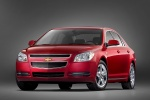2010 Chevrolet Malibu LT in Red Jewel Tintcoat - Static Front Left View