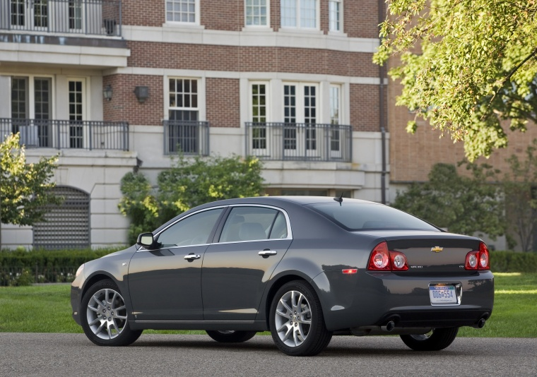 2011 Chevrolet Malibu Ltz In Taupe Gray Metallic Color