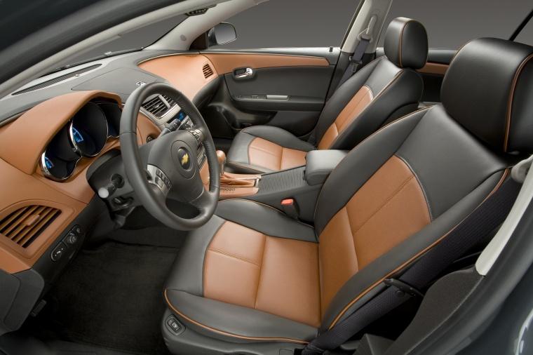 2011 Chevrolet Malibu LTZ Front Seats Picture