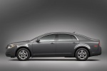 2011 Chevrolet Malibu LS in Taupe Gray Metallic - Static Side View