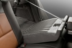 Picture of 2011 Chevrolet Malibu LTZ Rear Seats in Cocoa / Cashmere