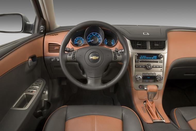 2012 Chevrolet Malibu Ltz Cockpit In Cocoa Cashmere Color