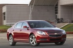 2012 Chevrolet Malibu LT in Red Jewel Tintcoat - Static Front Right Three-quarter View