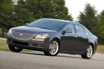 2012 Chevrolet Malibu LTZ in Taupe Gray Metallic - Driving Front Left Three-quarter View