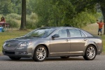 2012 Chevrolet Malibu LTZ in Taupe Gray Metallic - Static Front Left Three-quarter View