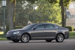 2012 Chevrolet Malibu LTZ in Taupe Gray Metallic - Static Left Side View