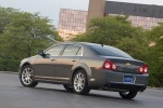 2012 Chevrolet Malibu LTZ in Taupe Gray Metallic - Static Rear Left View