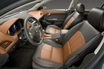 Picture of 2012 Chevrolet Malibu LTZ Front Seats in Cocoa / Cashmere