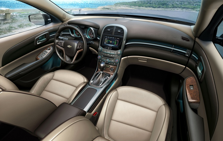 2013 Chevrolet Malibu Eco Interior In Cashmere Light Neutral Color Picture Image