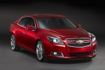 2013 Chevrolet Malibu LTZ in Crystal Red Tintcoat - Static Front Right Three-quarter View