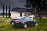 2013 Chevrolet Malibu Eco in Black - Static Rear Right View