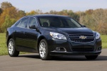 2013 Chevrolet Malibu Eco in Black - Static Front Right Three-quarter View