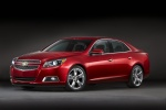 2013 Chevrolet Malibu LTZ in Crystal Red Tintcoat - Static Front Left Three-quarter View
