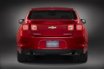 2013 Chevrolet Malibu LTZ in Crystal Red Tintcoat - Static Rear View