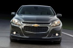 2014 Chevrolet Malibu in Ashen Gray Metallic - Static Frontal View