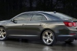 2014 Chevrolet Malibu in Ashen Gray Metallic - Static Rear Left Three-quarter View