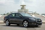 2014 Chevrolet Malibu in Ashen Gray Metallic - Static Front Right Three-quarter View