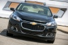 2015 Chevrolet Malibu in Ashen Gray Metallic from a frontal view