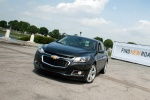 2015 Chevrolet Malibu in Ashen Gray Metallic - Driving Front Left View