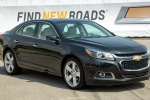 2015 Chevrolet Malibu in Ashen Gray Metallic - Static Front Right Three-quarter View