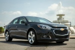 2015 Chevrolet Malibu in Ashen Gray Metallic - Static Front Right View