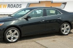 2015 Chevrolet Malibu in Ashen Gray Metallic - Static Front Left View