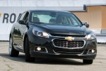 2015 Chevrolet Malibu in Ashen Gray Metallic - Driving Front Right View