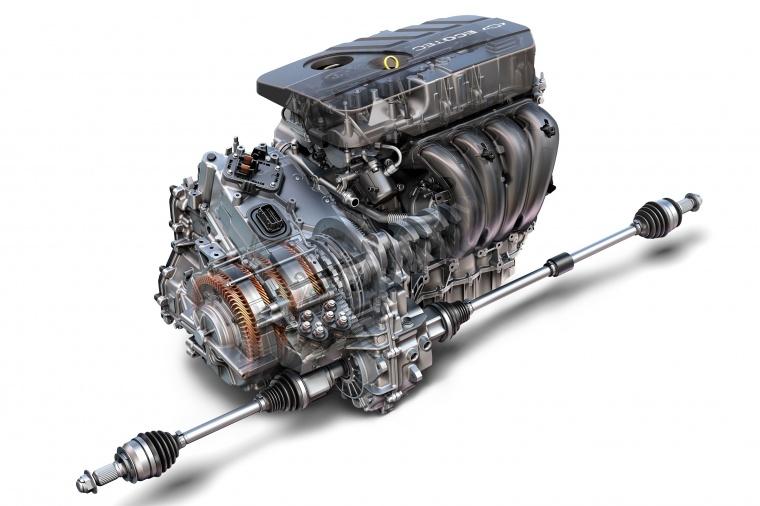 2018 Chevrolet Malibu Hybrid 1.8-liter 4-cylinder Engine Picture