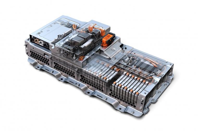 2018 Chevrolet Malibu Hybrid Battery Picture