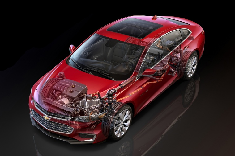 2018 Chevrolet Malibu Hybrid Technology Picture