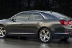 2016 Chevrolet Malibu Limited in Ashen Gray Metallic - Static Rear Left Three-quarter View
