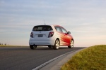 2012 Chevrolet Sonic Hatchback in Victory Red / Summit White - Static Rear Right View
