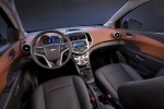Picture of 2013 Chevrolet Sonic Hatchback Cockpit in Jet Black / Dark Titanium