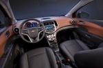 Picture of 2013 Chevrolet Sonic Hatchback Cockpit in Jet Black / Dark Titanium