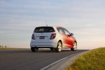 Picture of 2013 Chevrolet Sonic Hatchback LTZ in Victory Red / Summit White