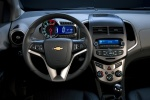 Picture of 2013 Chevrolet Sonic Sedan Cockpit in Jet Black / Dark Titanium
