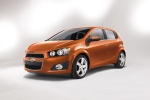 2014 Chevrolet Sonic Hatchback LTZ - Static Front Left View