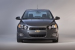 2015 Chevrolet Sonic Sedan in Ashen Gray Metallic - Static Frontal View